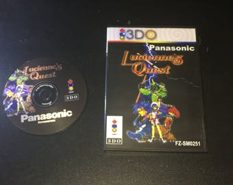 3DO Lucienne's Quest Reproduction