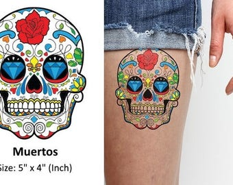 Muertos - Temporary Tattoo