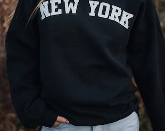 New York Sweatshirt - New York Sweater - New York Shirt - East Coast Sweatshirt