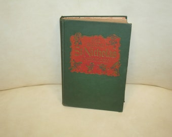 """Vintage 1950 """"The Second St. Nicholas Anthology"""" Random House, First Printing!  Illustrated"""