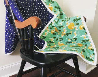 Custom Whole Cloth Quilt