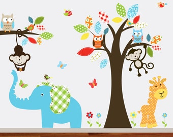 Vinyl Wall Decal  Wall Decals Nursery, Baby Wall Decals, Nursery Wall Decal, Wall Decals Animals