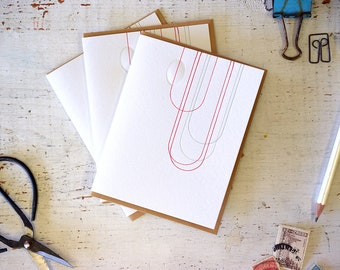 Loop Letterpress Notecard