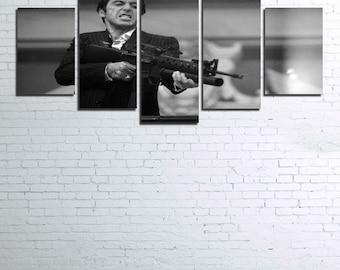 Scarface V2 5pc Canvas Set