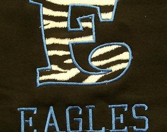 School Letter Shirt Teacher Shirt Mascot Shirt Mascot shirt