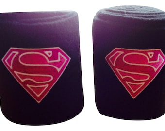 Supergirl Embroidered Polo Wraps