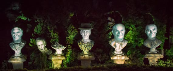 Haunted Mansion Disneyland Haunted Mansion Singing Busts