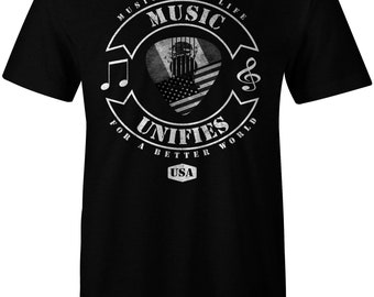 Music Lover | Music Unifies | Guitar Player | I Love Music | Music