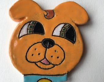Cuteware Orange Dog Medallion
