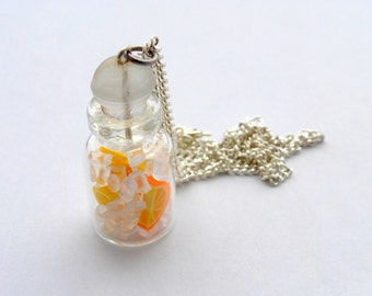 Oranges, Lemons and Ice Necklace