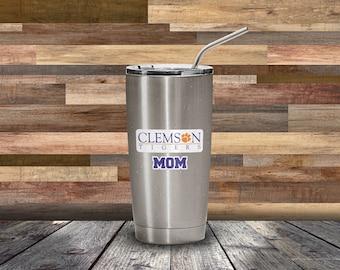 Clemson Inspired Mom Decal