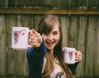 The Uterverse Mug (11oz. & 15oz.) - Feminist Coffee Cup