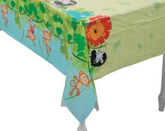 Safari Party Tablecloth/ zoo / jungle / safari party