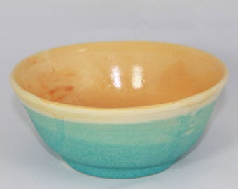 Hand-thrown ceramic cereal Bowl / soup bowl Suleika - unique