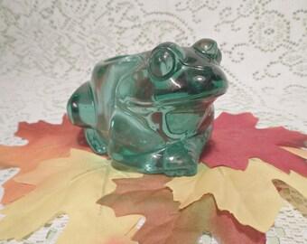 Frog Votive Holder---Indiana Glass