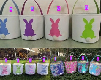 Monogrammed Easter Basket Personalized Easter Basket Bunny Easter Basket Top Seller Easter