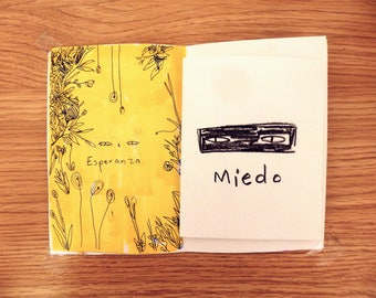 MIEDO Zine, Art Zine, zines, Comic Zine, cute zine, sad zine, strong zine, love zine