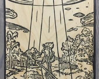 VOLO CREDERE - Medieval UFO Sighting/Alien Abduction