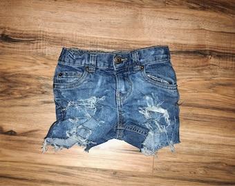 "The ""Railynn"" Shorts   distressed shorts   toddler distressed shorts   ripped jeans   toddler clothing   denim shorts"