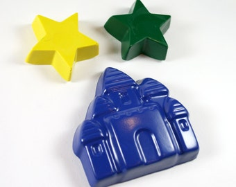 Starry Castle crayon set by Scribblers Crayons