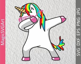 Dabbing Unicorn SVG, Dabbing svg, Dab svg, Dabbing Unicorn SVG file, Unicorn Dab svg, Funny unicorn svg, Dab svg, unicorn SVG Commercial use