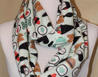 This Is How I Roll, Sushi Infinity Scarf