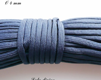 Cord / 550 Paracord 4 mm: Navy Blue