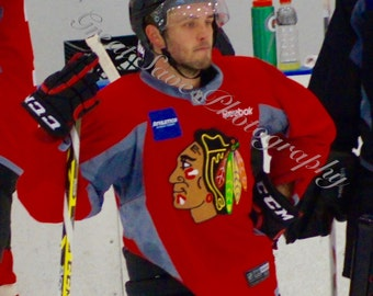 Niklas Hjalmarsson, Chicago Blackhawks, Hockey Decor, Photography