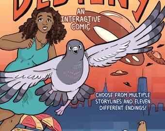 Pigeon of Destiny Comic Book
