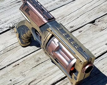Nerf Mega Blaster custom painted Steampunk/Mad Max style (FREE SHIPPING!)
