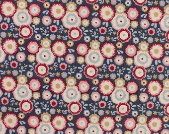 Tilda Limited Edition Candy Bloom, Candyflower in Stone Blue Fat Quarter