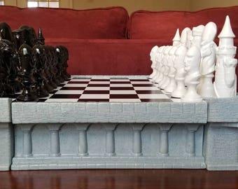 Chess Set (Glazed)