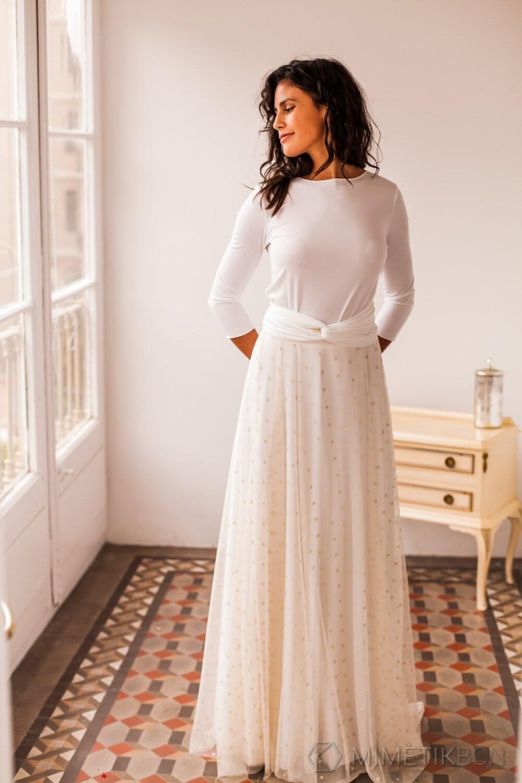 Hochzeit Kleid bereit-zu-Schiff Brautkleid mit abnehmbarer
