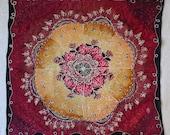 Red Gold Rose Mandala - H...