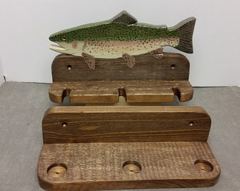 rainbow fishing rod holder