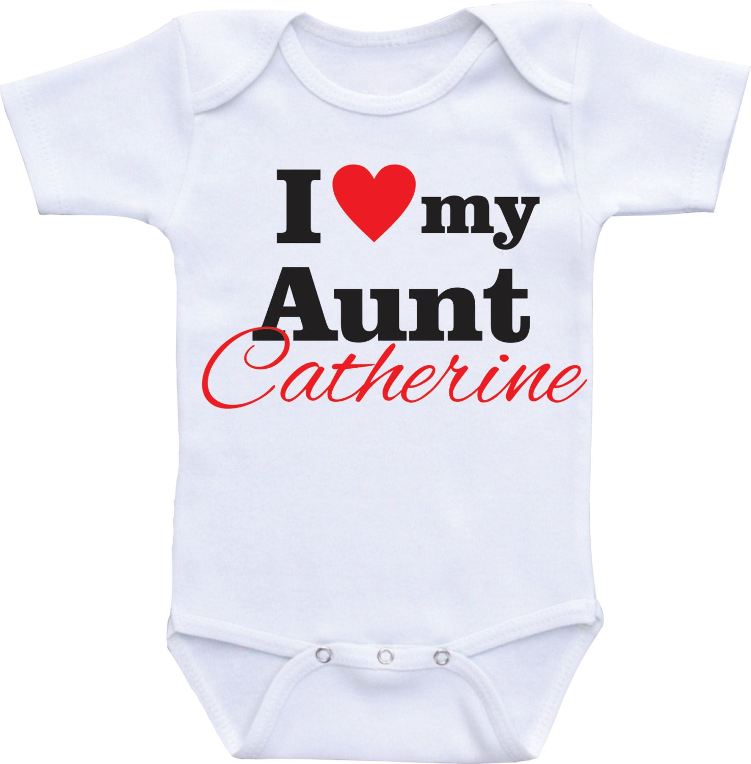 Personalized my Aunt esie I love my Aunt t for neice t