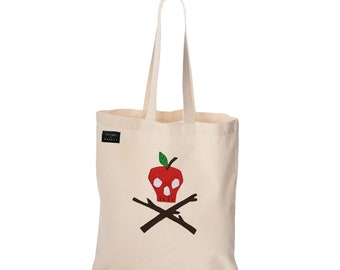 Poison Apple - Ivory Tote Bag - mi cielo x Donald Robertson