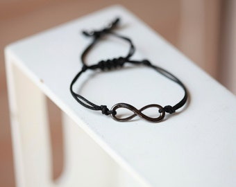 Mens infinity jewelry - Infinity Pendant Bracelet - Infinity Love Pendant