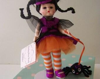 Witching hour Wendy w Spider Madame Alexander Halloween doll