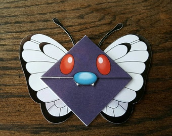 Butterfree Bookmark