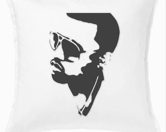 Kanye West throw pillow cover