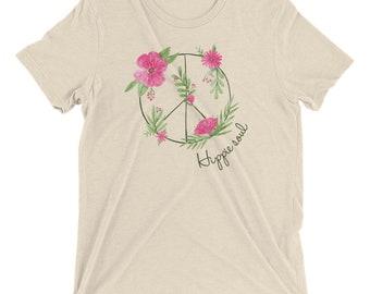 Hippie soul vintage feel short sleeve t-shirt