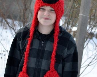PATTERN - Crochet Elmo Hat - All 8 Sizes!!  sc 1 st  Etsy & Crochet Elmo