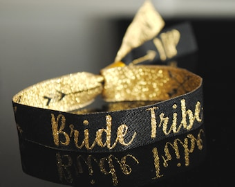 Bride Tribe Wristbands - Hen Party Wristbands - Bachelorette Party - Favours - Hen Do Accessories