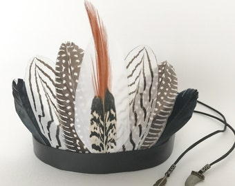 Tribe Warrior feather crown