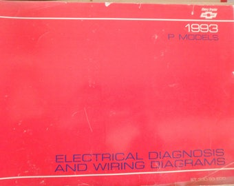 1993 chevrolet electrical diagnosis and diagrams- P-models