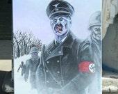 DEAD SNOW Original Acrylic Painting