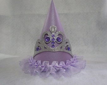 Sofia The First Inspired Birthday Party Hat