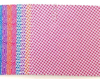 Japanese WASHI paper Origami YUZEN Chiyogami, 16 sheets, 12x12cm (Y023)