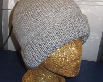 HALF PRICE SALE Instant Digital File Pdf Download knitting pattern-Ladies Luxury Beanie pdf knitting pattern - madmonkeyknits